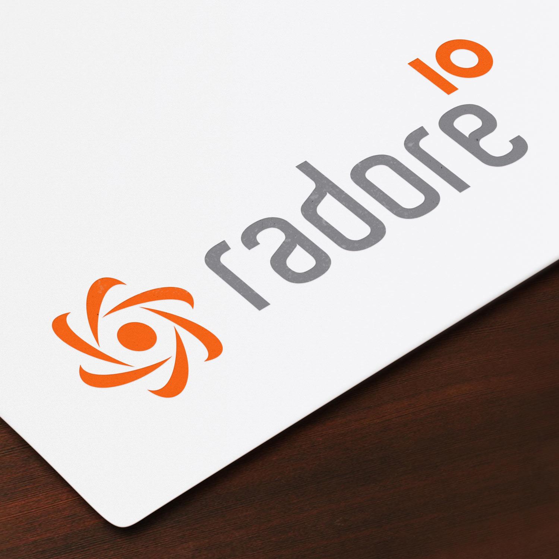 Branding_Radore logo color year 10