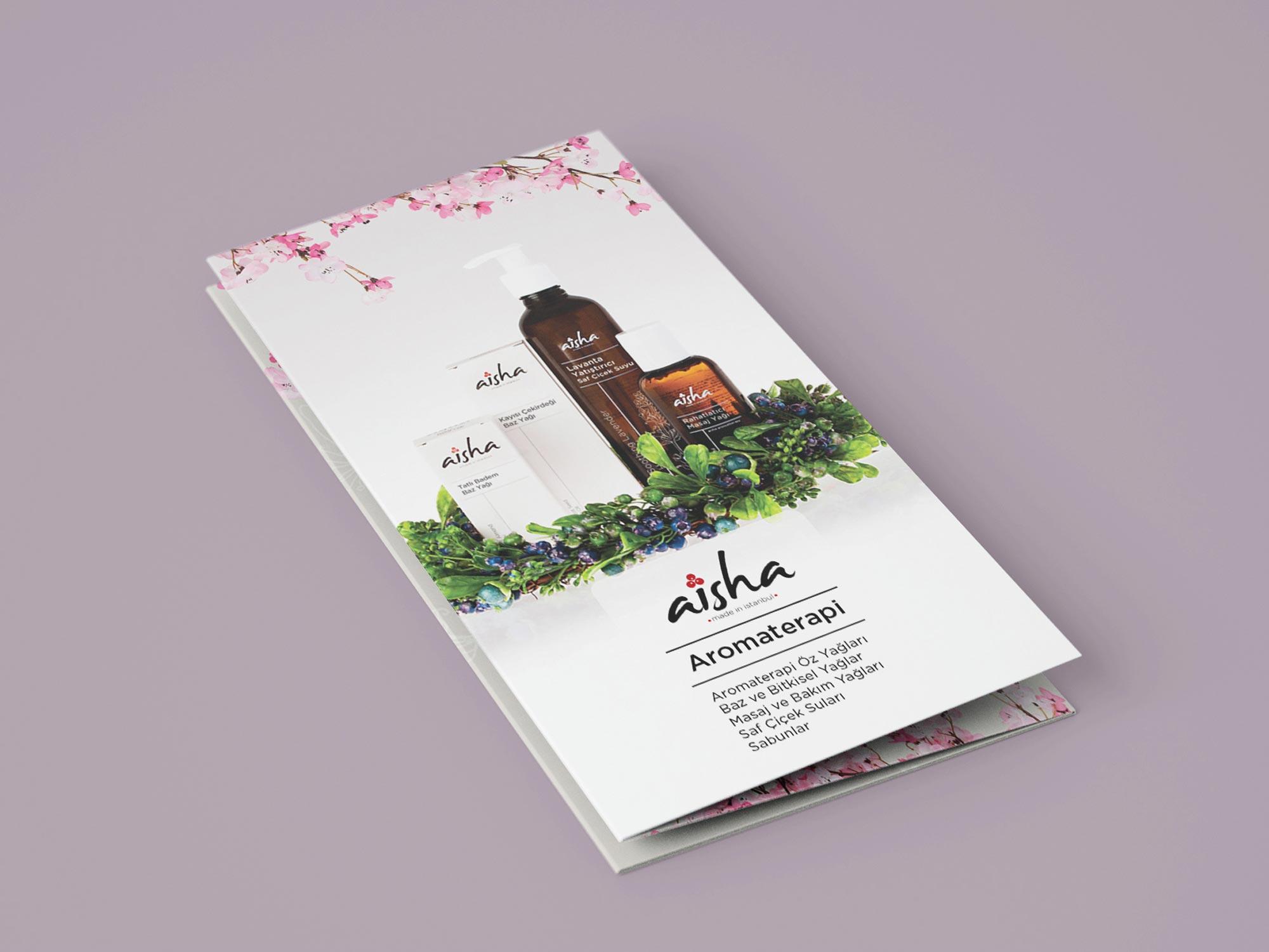 Layout Aisha Aromatherapy Brochure 01