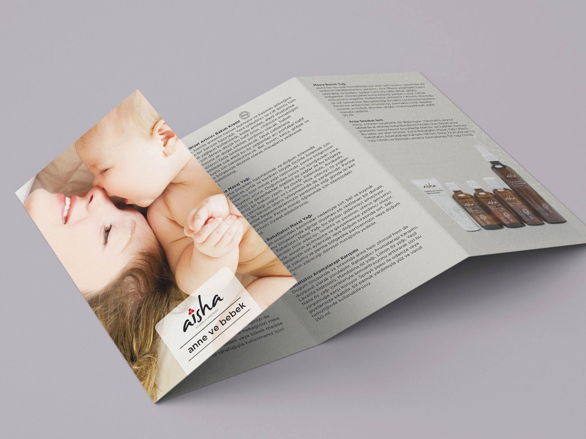 Layout Aisha mommy-baby Brochure 01