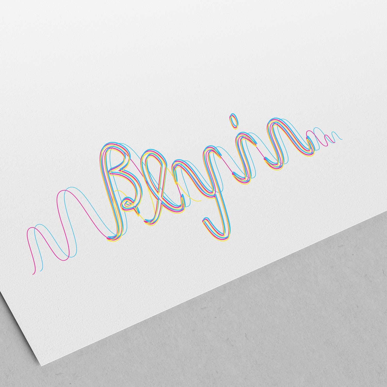 Beyin Sketch Beta Logo