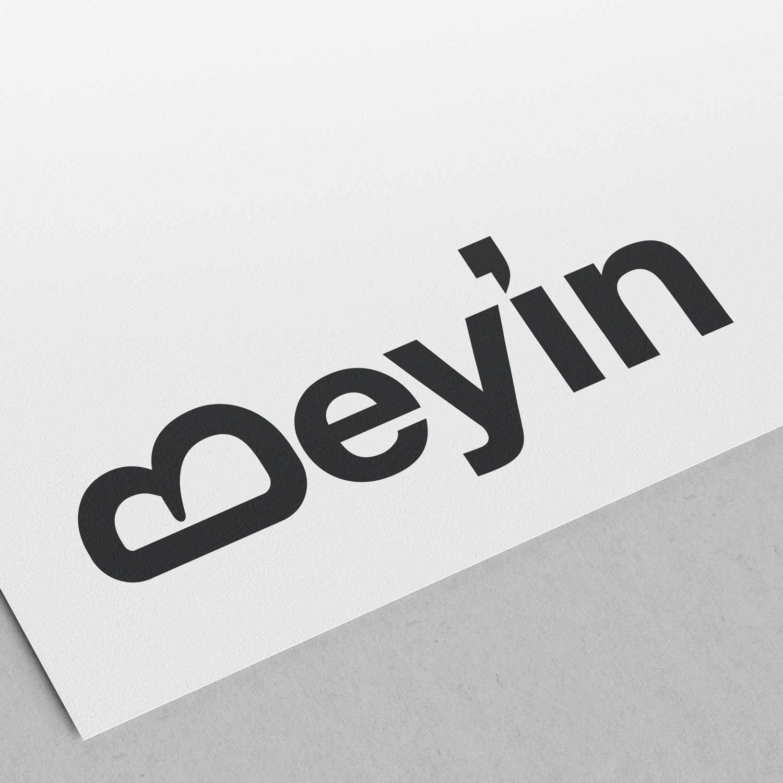 Beyin Sketch Typographic Logo
