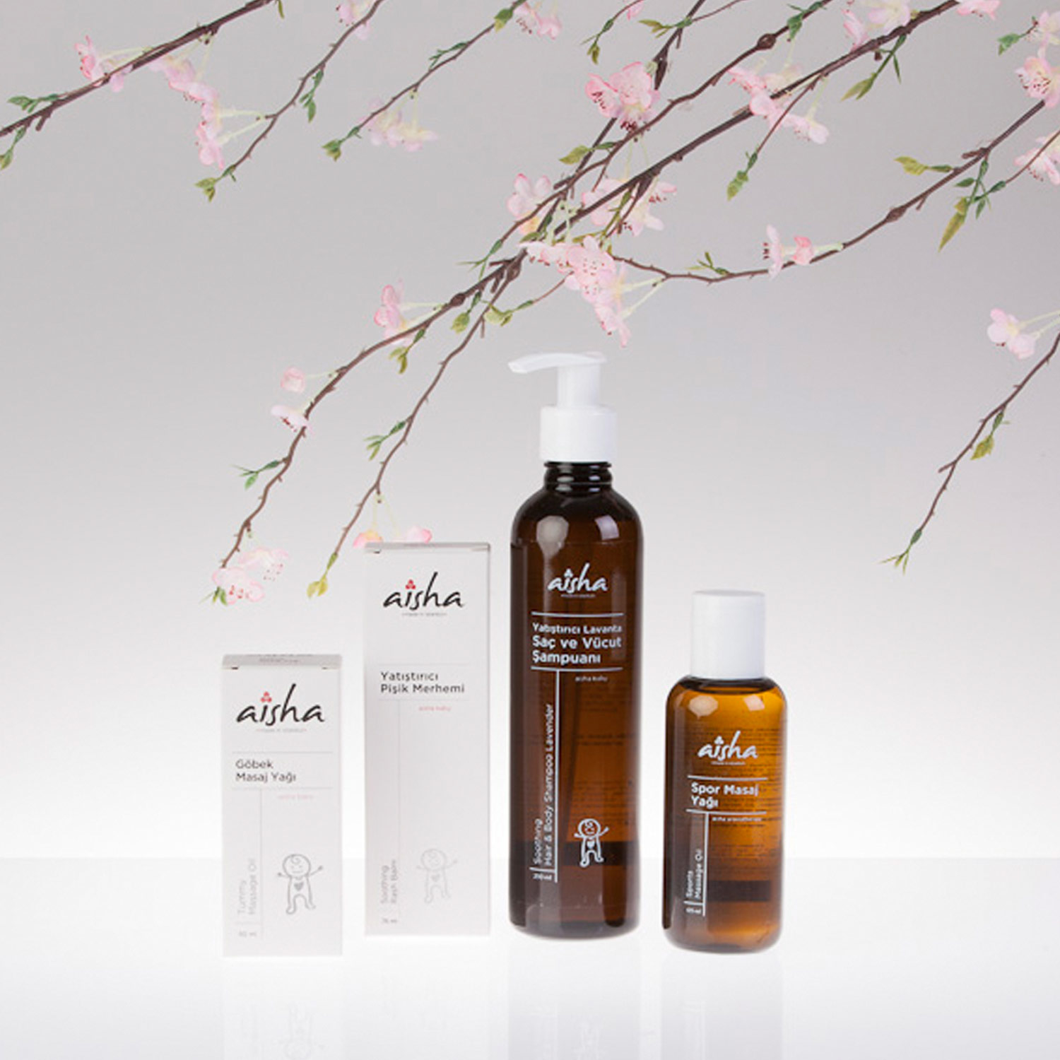 Miscellaneous Aisha aromatherapy mommy baby Packaging